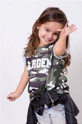 Camiseta Infantil Sargent