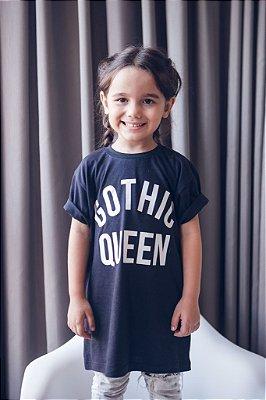 Camiseta Infantil Gothic Queen