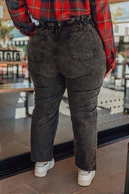 Clochard Jeans Preta Estonada