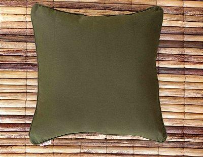 Almofada de Sarja Verde e Variações