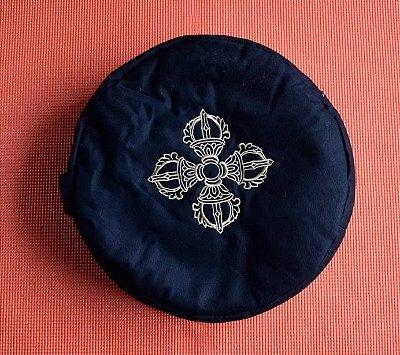 Almofada de Meditação Redonda com Símbolo