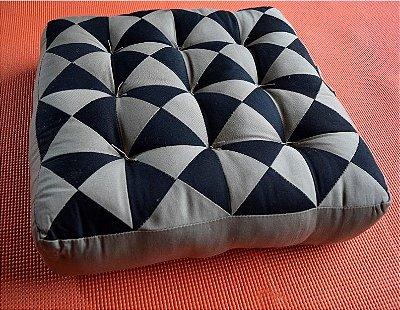 Almofada de Meditação Futon Patchwork