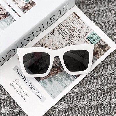 Óculos de Sol Sunglasses Maxi Branco