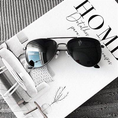Óculos de Sol Sunglasses Ray-ban Preto