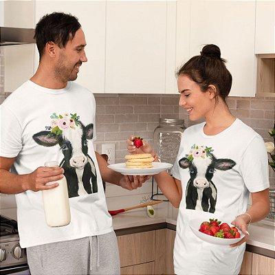 Combo Camisa + Camisola Personalizada Vaca Desenho
