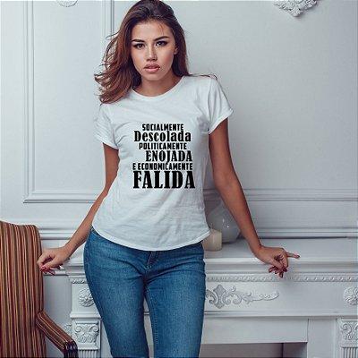 Camiseta Politicamente Descolada