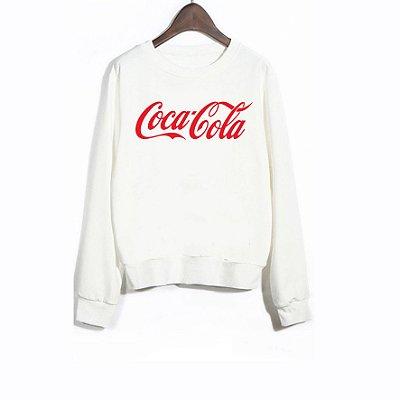 Moletom Peluciado Coca Cola