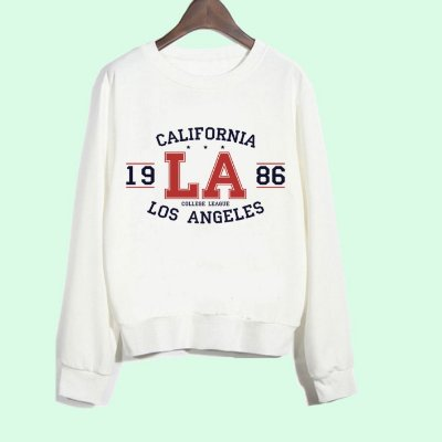 Moletom Peluciado Califórnia LA