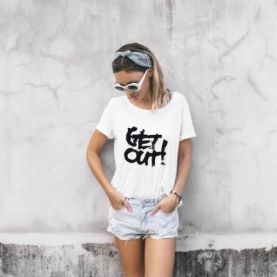 T-Shirt Get Out