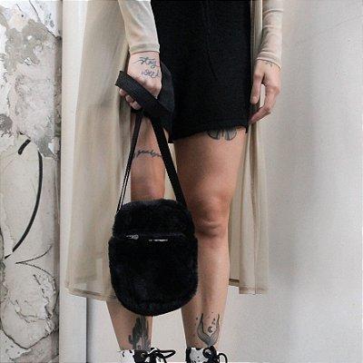 Bolsa Shoulder Bag Pelo All Black