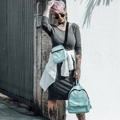 COMBO SHOULDER BAG + MOCHILA