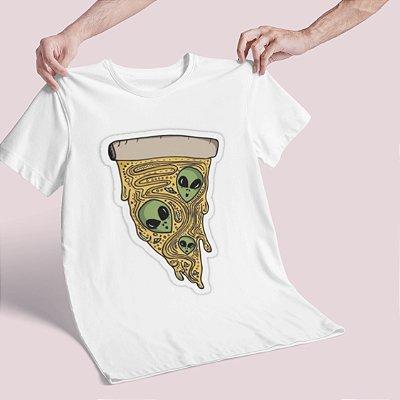 Camiseta Alien Pizza