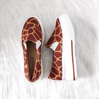 Tênis Slip On Girafa