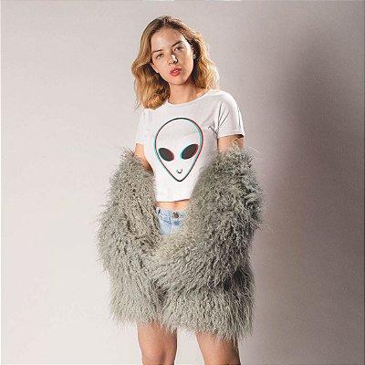 Tee Cropped Alien