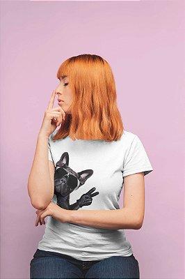 Combo Pug: T-shirt Branca + Chinelo de dedo