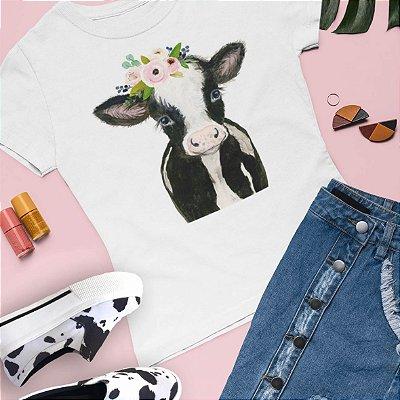 Combo Tshirt + Slip On vaca
