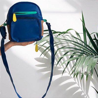Bolsa Shoulder Bag Colors Azul Petróleo