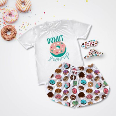 Conjuntinho Pijama Donuts