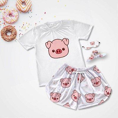 Pijama Conjuntinho Porco