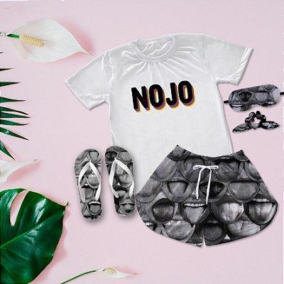 Conjunto Pijama Nojo + Chinelo de dedo