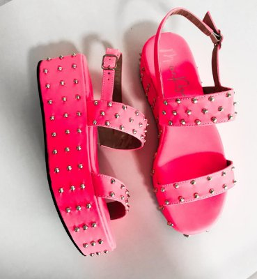 Sandália Spike Shaira Pink