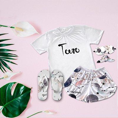 Conjunto Pijama Touro +  Chinelo de dedo