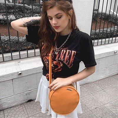 Bolsa Redonda Caramelo