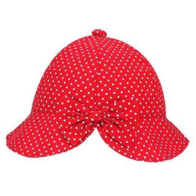 Chapéu Bebê De Poá - Vermelho