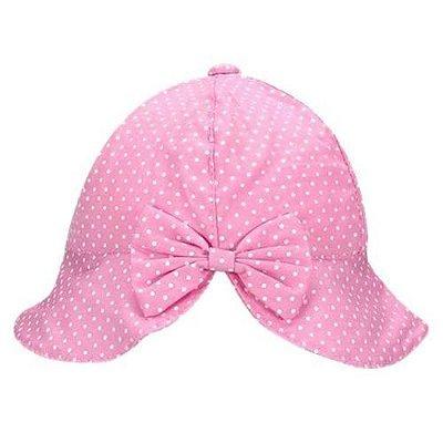 Chapéu Bebê De Poá - Rosa