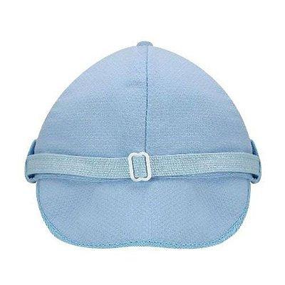 Boné Bebê Piquê - Azul Bebê