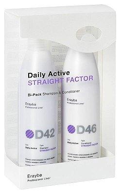 BiPack - D42+D46 - Intensificador de liso - Shampoo/Cond - 2x250ml