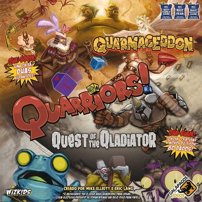Quarriors: Quarmageddon/Quest of the Gladiator - Nacional