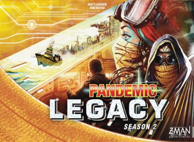 PANDEMIC LEGACY YELLOW 2º TEMPORADA