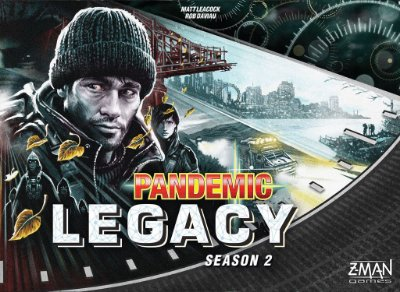 PANDEMIC LEGACY BLACK 2º TEMPORADA