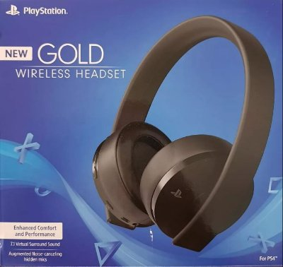 NEW HEADSET GOLD 7.1 WIRELESS PS4