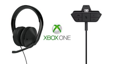 HEADSET XBOX ONE PRETO C/ADP