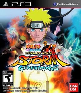 NARUTO SHIPPUDEN ULTIMATE STORM GENERATIONS US PS3