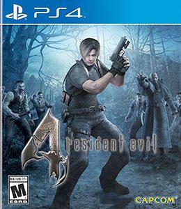 RESIDENT EVIL 4 US PS4