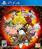 THE SEVEN DEADLY SINS KNIGHTS OF BRITANNIA US PS4