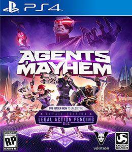 AGENTS MAYHEM US PS4