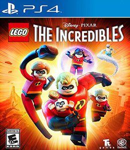 LEGO OS INCRIVEIS PS4