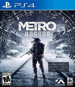 METRO EXODUS STANDARD - PS4