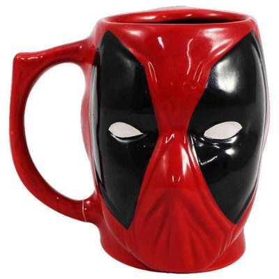 CANECA 3D 400ML DEAD POOL