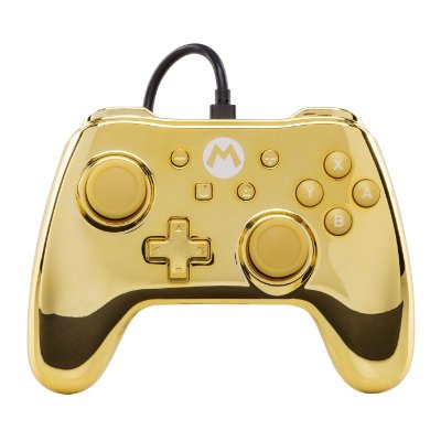 CONTROLE POWERA  CHROME  NINTENDO SWITCH MARIO