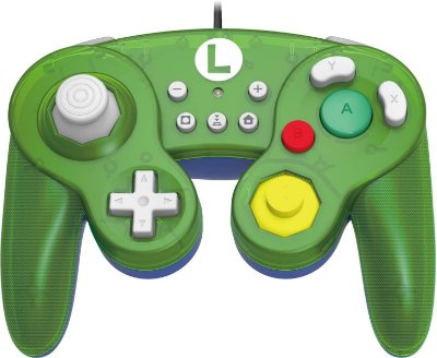 CONTROLE SWITCH BATTLE PAD LUIGI