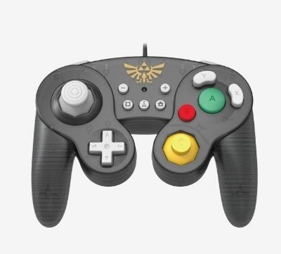 CONTROLE SWITCH BATTLE PAD ZELDA