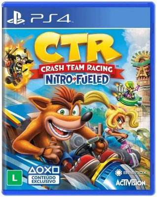 Crash Team Racing Nitro Fueled - PS4 - PRÉ - VENDA