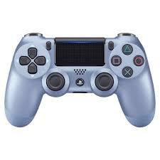 CONTROLE DUAL SHOCK TITANIUM BLUE PS4