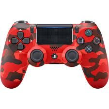 CONTROLE DUAL SHOCK RED CAMOUFLAGE PS4