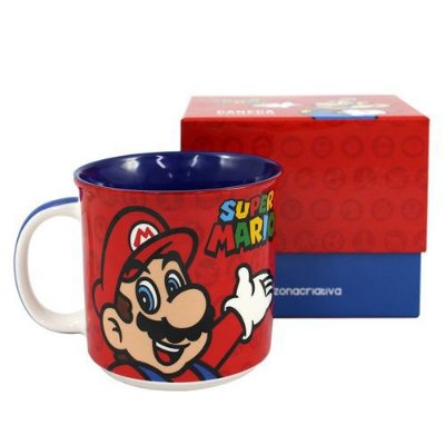 CANECA 350ML SUPER MARIO